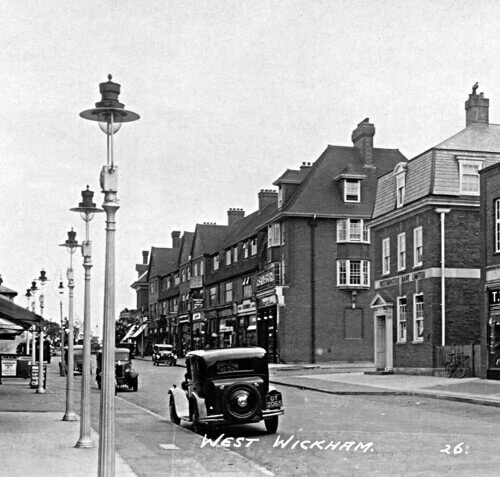West Wickham High Street